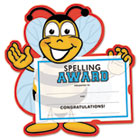 Motivations Spelling Bee Certificate Award Kit and Holder, 8.5 X 5.5, 10/pk SOUMAK6