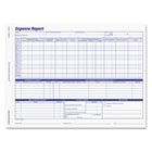Adams Weekly Expense Report Forms ABF9032