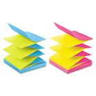 Pop-Up Refills, 3 x 3, Four Alternating Ultra Colors, 100/Pad, 12 Pads/Pack MMMR330UALT