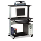 Eastwinds Multimedia Workstation, 36-3/4w x 21-1/4d x 50h, Anthracite MLN8350MRANT