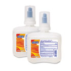 Non-Alcohol Hand Sanitizing Foam Refill, Unscented, Clear, 1250mL, 2/Carton CPM01419