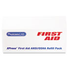 XPRESS First Aid Kit Refill Pack, ANSI Compliant, 103-Pieces ACM90276