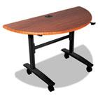 Lumina Table Top, Half-Round, 48w x 24d, Cherry BLT90070