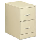 Two-Drawer Economy Vertical File, 18-1/4w x 26-1/2d x 29h, Putty EFS22206