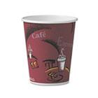 Bistro Design Hot Drink Cups, Paper, 10oz, 50/Pack SLO370SIPK