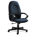 Enterprise Series High-Back Swivel/Tilt Chair, Polypropylene Fabric, Navy GLB4560BKPB08