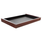 Valencia Series Center Drawer, 24-1/2w x 15d x 2h, Mahogany ALEVA312414MY