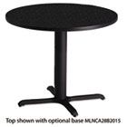 "Bistro Series 36"" Round Laminate Table Top, Charcoal Anthracite MLNCA36RTANT"
