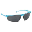 Refine 202 Safety Glasses, Wraparound, Gray AntiFog Lens, Teal Frame MMM117360000020