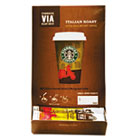 VIA Ready Brew Coffee, 3/25oz, Italian Roast, 50/Box SBK11008130