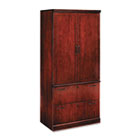 Belmont Collection Lateral File Storage Cabinet, 36 x 24-1/2 x 80, Sunset Cherry DMI713107