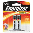 MAX Alkaline Batteries, AA, 2 Batteries/Pack EVEE91BP2