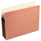 Redrope File Pocket with Manila Lining, 5 1/4 Inch Expansion, Letter, 10/Box WLJ66