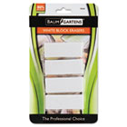 Block Eraser, Latex Free, White, 4/Pack BAU74121