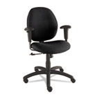 Graham Series Pneumatic Ergo-Tilter Swivel/Tilt Chair, Black Fabric GLB31443NBKS110