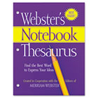 Notebook Thesaurus, Three-Hole Punched, Paperback, 80 Pages MERFSP0573