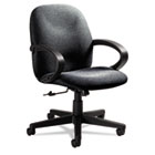 Enterprise Series Low-Back Swivel/Tilt Chair, Polypropylene Fabric, Gray GLB4561BKPB04