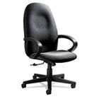 Enterprise Series High-Back Swivel/Tilt Chair, Polypropylene Fabric, Gray GLB4560BKPB04