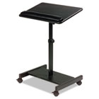 Scamp Speaker Stand, 24w x 18d x 27 to 43h, Black BLT43062
