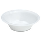 Foam Bowl, 12oz, White, 125/Pack DCC12BWWQRPK