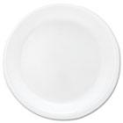 "Mediumweight Foam Dinnerware, Plates, 6"" dia, White, 125/Pack SLORSF6PK"