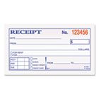 Money and Rent Receipt Books, 2-3/4 x 4 7/8, 2-Part Carbonless, 50 Sets/Book TOP46820