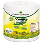 Marcal 100% Recycled Toilet Paper, 2 Ply, 4.5x4 in, 504 sht/rl, 48 rl/ct MRC5001