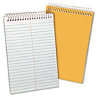 Recycled Steno Book, Gregg Rule, 6 x 9, White, 80 Sheets TOP25774