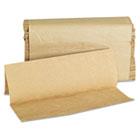 Folded Paper Towels, Multifold, 9 x 9 1/2, Kraft, 250 Towels/Pack GEN1508