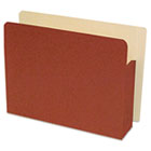 "End Tab File Pocket, Letter, 4"" Exp, Redrope GUS75114"