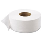 "Green Heritage Jumbo Junior Roll Toilet Tissue, 2-Ply, 9""dia, 12/Carton APM800GREEN"