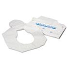 Health Gards Toilet Seat Covers, Half-Fold, White, 250/Pack, 4 Packs/Carton HOSHG1000