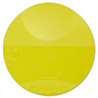Round Storage Container Lids, 8 3/4 dia x 7/8h, Yellow RCP5722YEL