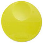 Round Storage Container Lids, 10 1/4 dia x 1h, Yellow RCP5725YEL