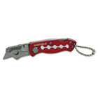 Sheffield Mini Lockback Knife, 1 Utility Blade, Red GNS58116