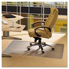 Cleartex Advantagemat Phthalate Free PVC Chair Mat for Low Pile Carpet, 48 x 36 FLRPF119225EV