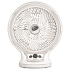Eco-Smart Table Fan, 2-Speed, White BNRBDF1011AGU