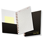 Gold Fibre Personal Notebook, College Rule, 5 x 7, Grey Cover, 100 Sheet TOP20803