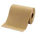"Hardwound Roll Towels, 8"" x 350ft, Brown, 12 Rolls/Carton MORR12350"