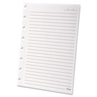 Versa Notebook Wide Ruled Refill Paper, 8-1/2 x 11, White, 40 Sheets/Pack TOP25617