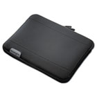 Fleece and Neoprene Sleeve for 10 Inch Tablets, Black KMW62576