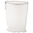 Laundry Net, 24w x 24d x 36h, Synthetic Fabric, White RCPU210