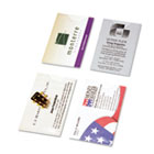 Business Card Holders for Looseleaf Planners, 5 1/2 x 8 1/2, 5/Pack DTM87225