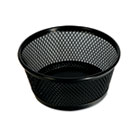 Jumbo Mesh Clip Dish, Black UNV20014