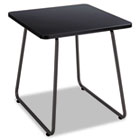 Anywhere End Table, 20w x 20d x 19-1/2h, Black SAF5090BL