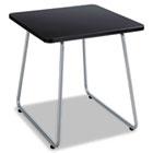 Anywhere End Table, 20w x 20d x 19-1/2h, Black/Silver SAF5090SL