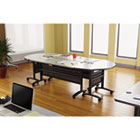 Valencia Series Training Table Top, Rectangular, 47-1/4w x 23-5/8d,Speckled Gray ALEVA72RE4824GY
