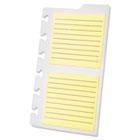 Versa Notebook Task Pad Refill, Lined, 3 x 3, Lt Yellow, 30 Shts/Pad, 2 Pads/Pk TOP25630