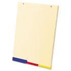SimpleSort Crossover Writing Pad Divider Refills, 8-1/2 x 12-1/4, Assorted, 3/Pk TOP20329