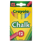 Chalk, Two Each of Six Assorted Colors, 12 Sticks/Box CYO510816